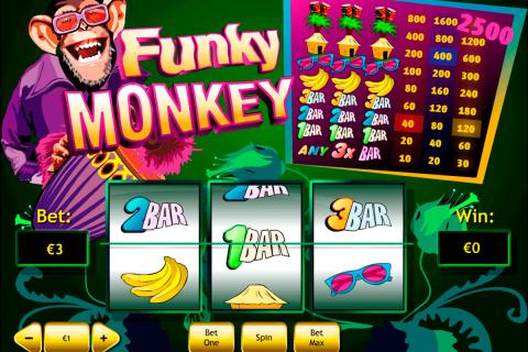 funky monkey playtech