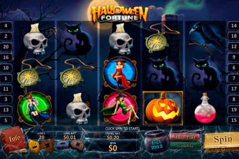 halloween fortune playtech