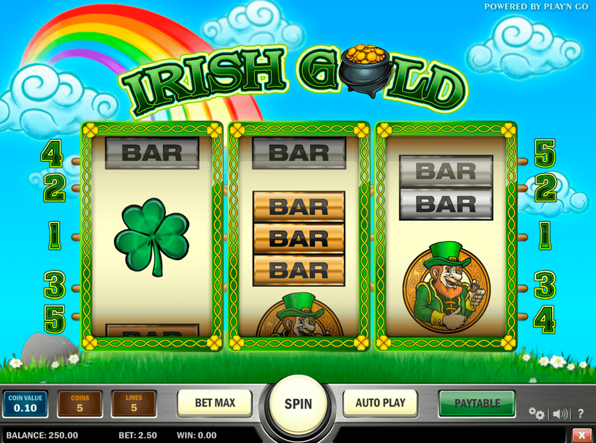 irish gold playn go