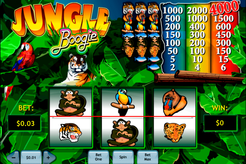 jungle boogie playtech free slot