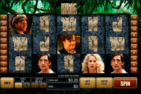 king kong playtech free slot