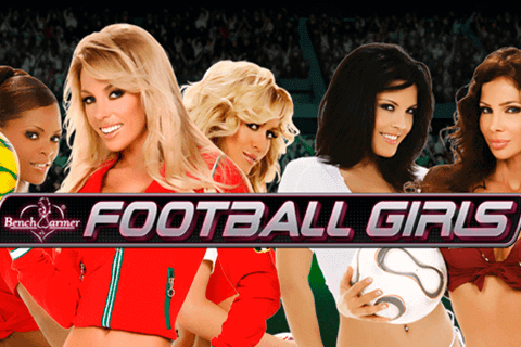 logo football girls playtech slot game