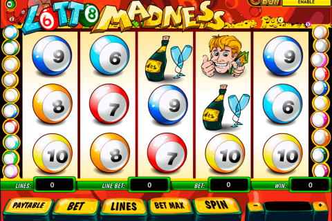 lotto madness playtech free slot