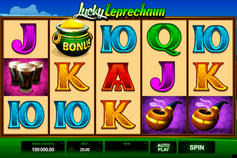 lucky leprechaun microgaming free slot