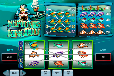 neptunes kingdom playtech free slot