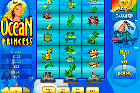 ocean princess playtech free slot