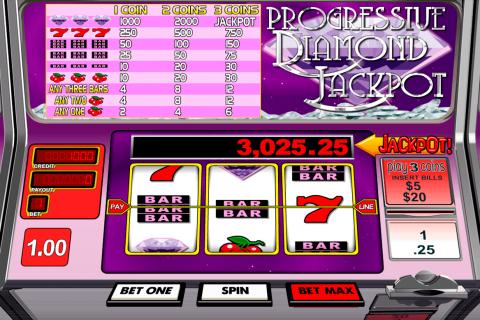 progressive diamond jackpot betsoft