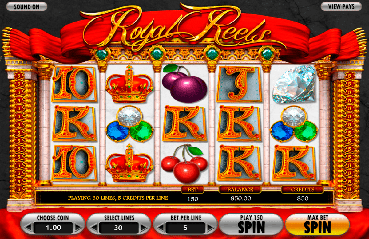 royal reels betsoft