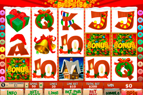 santa surprise playtech free slot