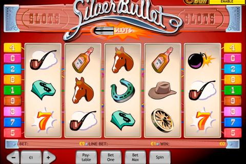 silver bullet playtech free slot
