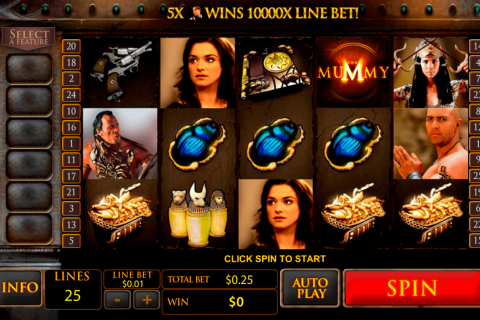 the mummy playtech free slot