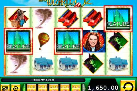the wizard of oz wms free slot