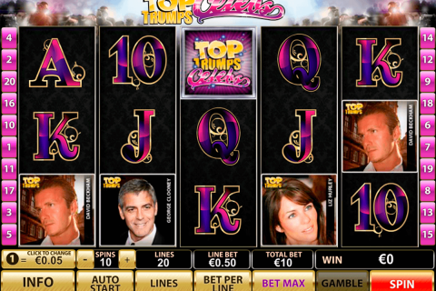 top trumps celebs playtech free slot