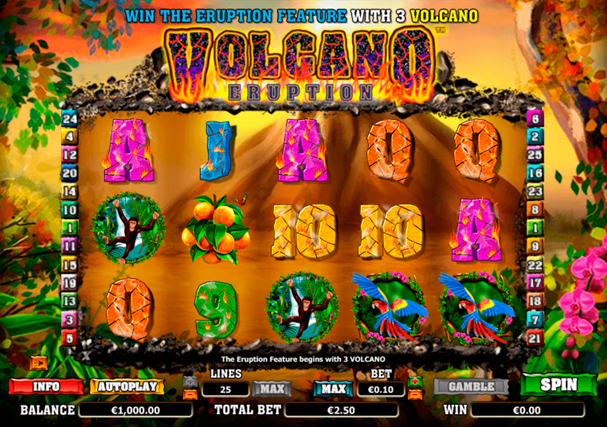 volcano eruption netgen gaming