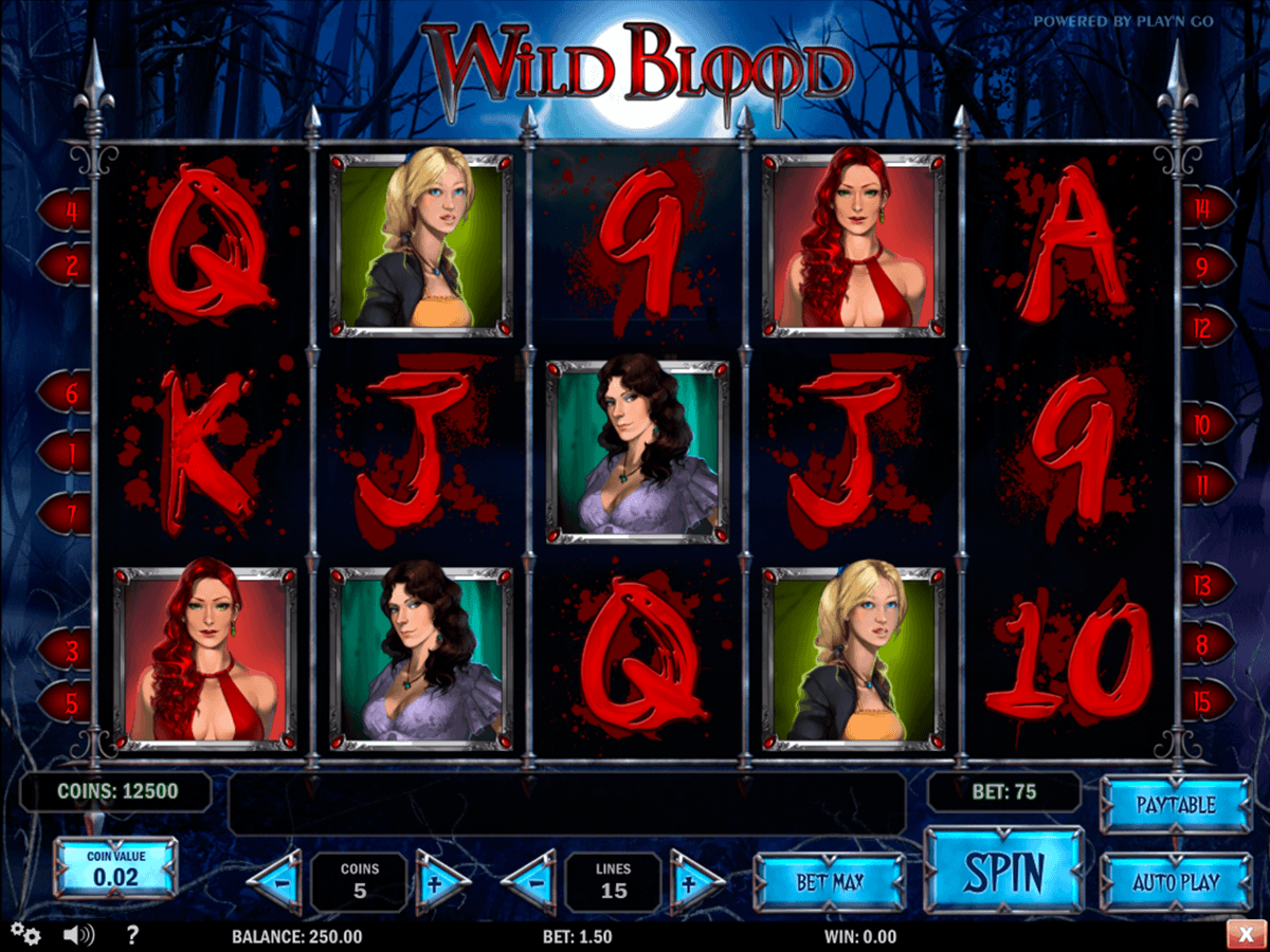 wild blood playn go