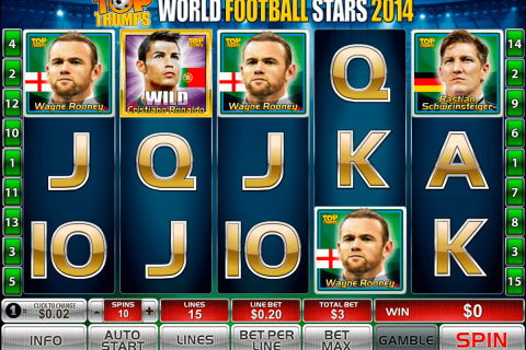world football stars  playtech free slot
