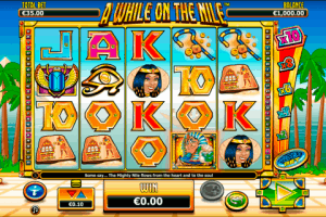 A While On The Nile Netgen Gaming