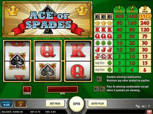 Ace Of Spades Playn Go