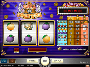 Bell Of Fortune Playn Go