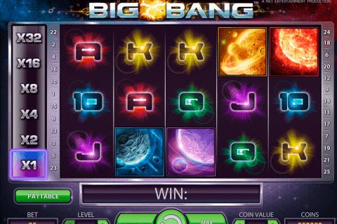 big bang netent