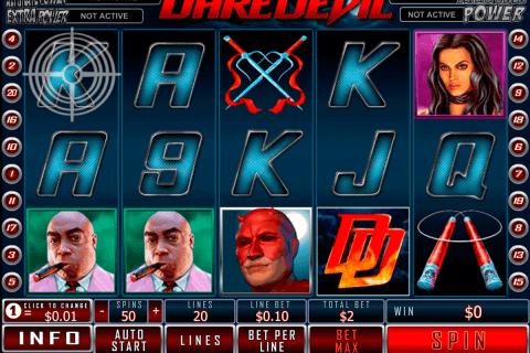 daredevil playtech