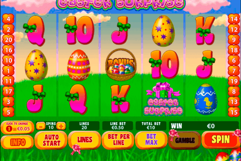 easter surprise playtech