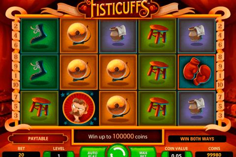 fisticuffs netent