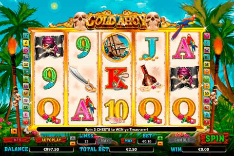 gold ahoy netgen gaming