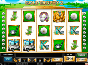 Gold Trophy Playn Go
