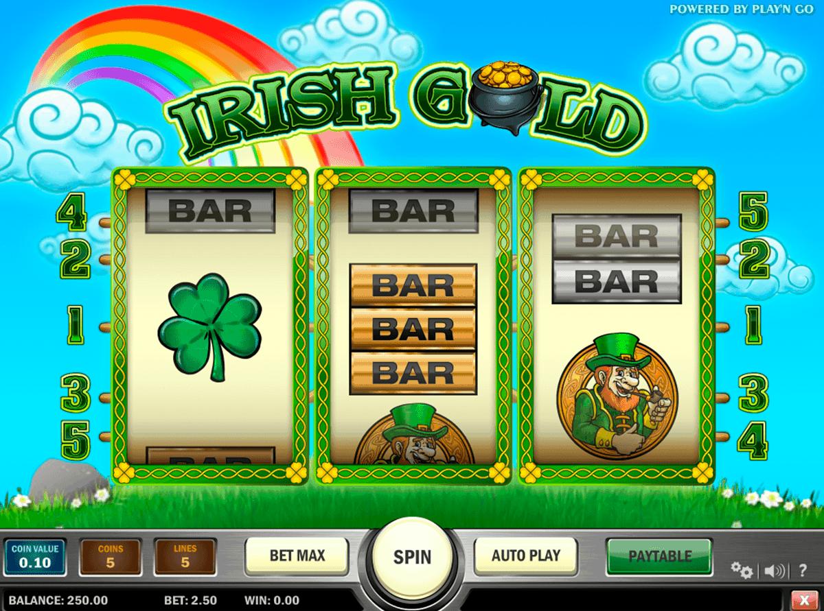 irish gold playn go