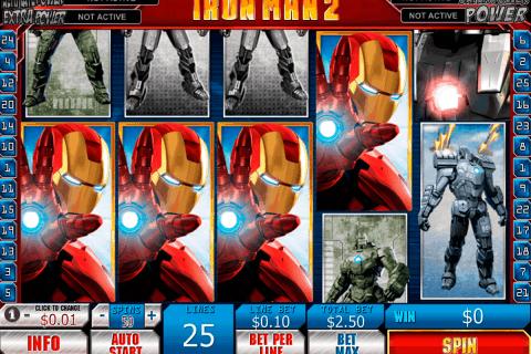iron man playtech free slot