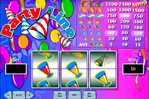 party line playtech free slot
