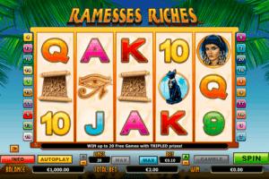 Ramesses Riches Netgen Gaming