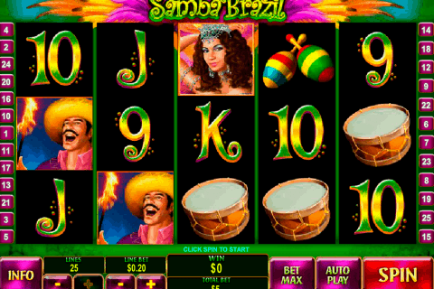 samba brazil playtech free slot