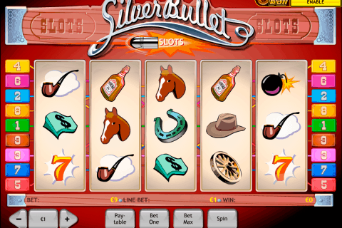 silver bullet playtech free slot