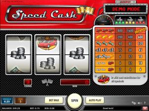 Speed Cash Playn Go