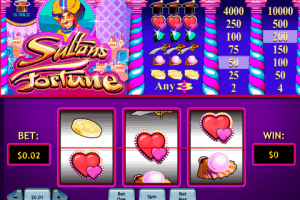 Sultans Fortune Playtech Free Slot