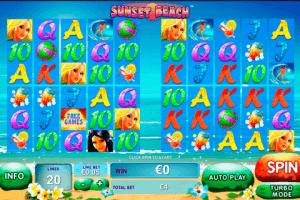 Sunset Beach Playtech Free Slot
