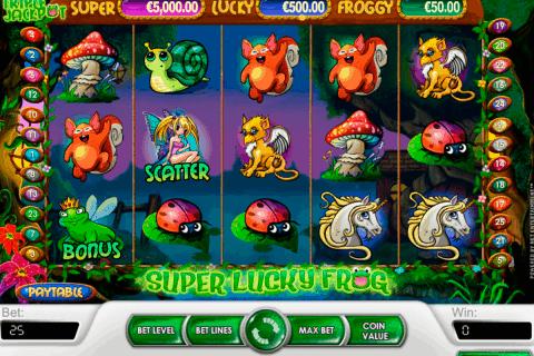 super lucky frog netent