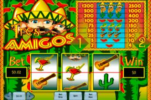 Tres Amigos Playtech Free Slot
