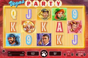 Vegas Party Netent